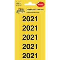 Inhaltsschilder Avery Zweckform 43-221, 2021 60 x 26mm (BxH), 100 Stück
