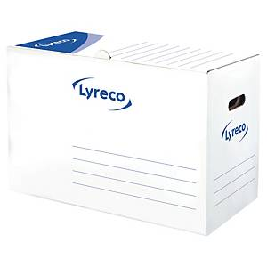 LYRECO AUTOMATIC STORAGE BOXES 340 X 500 X 250MM - PACK OF 10