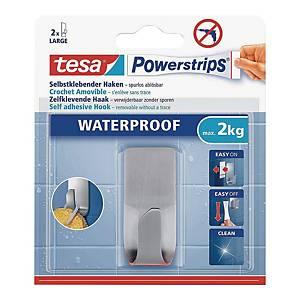 Haczyk samoprzylepny Tesa Powerstrips® Waterproof, metalowy