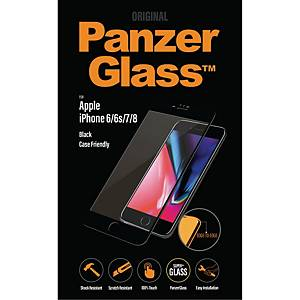 PanzerGlass Apple iPhone 6/6S/7/8, sort