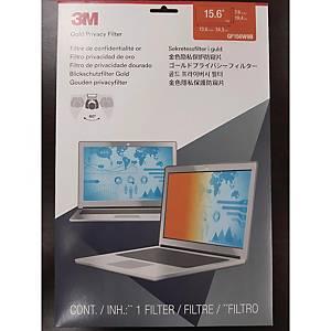 [직배송]3M GF156W9B 골드 노트북 정보보안기 와이드형