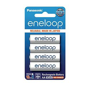 PANASONIC Eneloop AA Rechargable 2000Mah Pack Of 4
