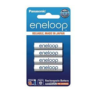 PANASONIC Eneloop AAA Rechargable 800Mah Pack Of 4