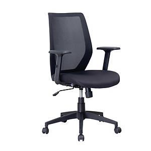 SIMMATIK เก้าอี้สำนักงาน L-X-15WX สีดำ