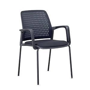 SIMMATIK เก้าอี้พักคอย L-W-161D สีดำ