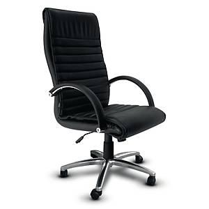 ITOKI เก้าอี้ผู้บริหาร LG-4 หนังเทียม สีดำ