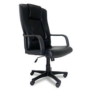 ITOKI เก้าอี้ผู้บริหาร BOEING-02 หนังเทียม สีดำ