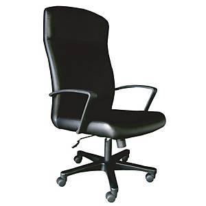 ITOKI เก้าอี้ผู้บริหาร JASPER-03 หนังเทียม สีดำ