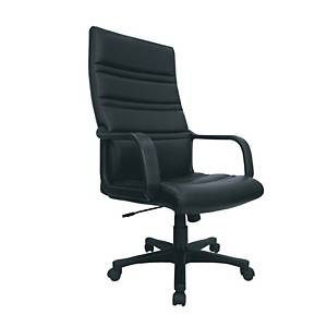 ITOKI VENUS-02 EXECUTIVE CHAIR PVC BLACK