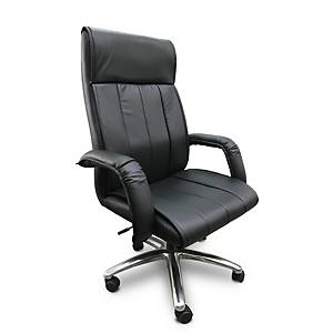 ITOKI เก้าอี้ผู้บริหาร KINGSTON-02 หนังเทียม สีดำ
