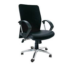 ITOKI เก้าอี้ผู้บริหาร LEADER-01/CH หนังเทียม สีดำ