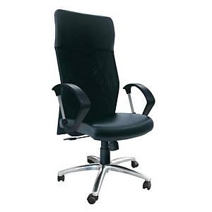 ITOKI เก้าอี้ผู้บริหาร LEADER-02/CH หนังเทียม สีดำ