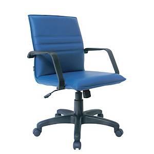 ITOKI เก้าอี้สำนักงาน SR-2 หนังเทียม สีน้ำเงิน