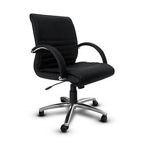 ITOKI เก้าอี้สำนักงาน LG-3 หนังเทียม สีดำ