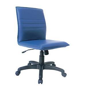 ITOKI เก้าอี้สำนักงาน SR-1 หนังเทียม สีน้ำเงิน