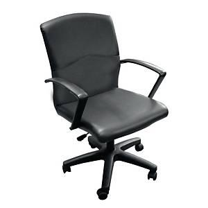 ITOKI เก้าอี้สำนักงาน YARIS หนังเทียม สีดำ