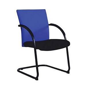 ITOKI TWIN-1/C Office Chair PVC Blue/Black