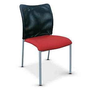ITOKI STELLA Party Chair Black/Red