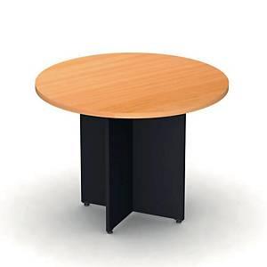 ITOKI โต๊ะกลม RLT100 100X75 ซม เชอรี่/ดำ