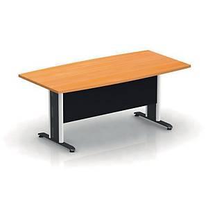 ITOKI โต๊ะประชุมไม้ LKTS 180 ITK 180X90X75 ซม เชอรี่/ดำ
