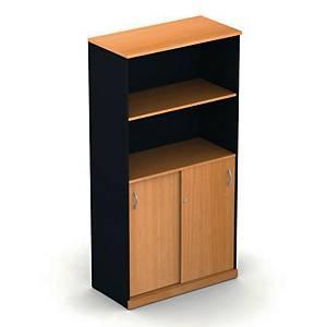 ITOKI 150 SLT Cabinet Cherry/Black