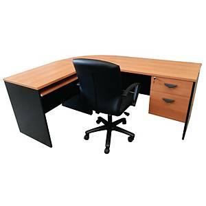 ITOKI FAVOUR Manager Set Table Cherry/Black Left