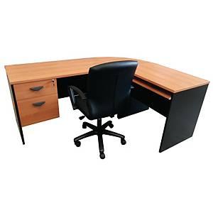 ITOKI FAVOUR Manager Set Table Cherry/Black Right