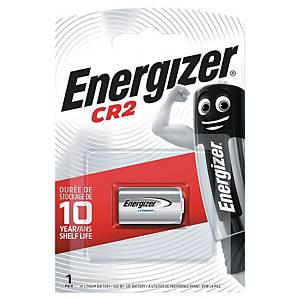 Energizer CR2 Lithiumbatterie 3 V, 1 Stück per Packung