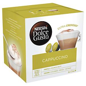 Cappuccino Dolce Gusto - boîte de 16 capsules