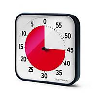 Stoppuhr Time Timer 14041, Tischuhr mit Signal, Medium, Maße: 18 x 18cm, schwarz