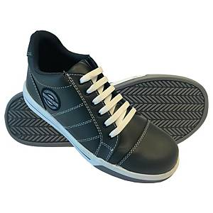WARRIOR รองเท้านิรภัย รุ่น GLADSTONE SOLE S1P เบอร์ 42 สีเทาเข้ม
