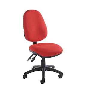 Vantage Operator Chair Red - Del & Ins