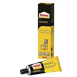 Pattex contact glue transparant tube 50 g