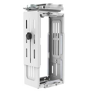 Halo Under Desk CPU Holder Large White - Delivery Only