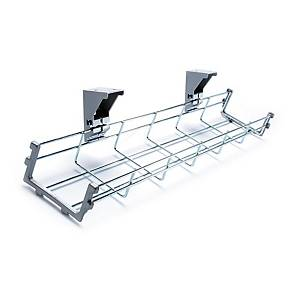 Drop Down Cable Management Tray 1400mm Long - Delivery Only