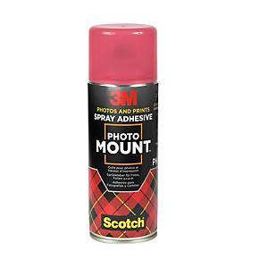 3M Photo Mount - Aerosol Spray Adhesive For Permanent Mounts 400ml Can