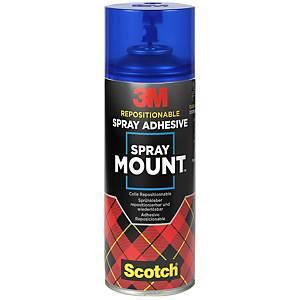 Colle en aérosol 3M SprayMount, 400 ml, repositionnable