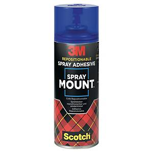 Colle montages successifs 3M SprayMount - aérosol de 400 ml