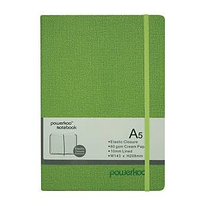 Powerkoo LT-0863 Notebook A5 80g Green