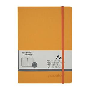 Powerkoo LT-0863 Notebook A5 80g Orange