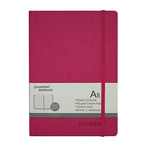Powerkoo LT-0863 Notebook A5 80g Red