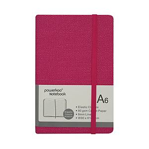 Powerkoo LT-0866 Notebook A6 80g Red