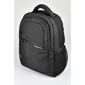 Monolith 3312 Blue Line Laptop Backpack 15.6  Black