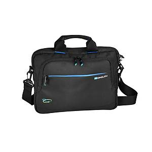 Monolith 3315 Blue Line Chromebook/ Tablet Briefcase 13.3  Black