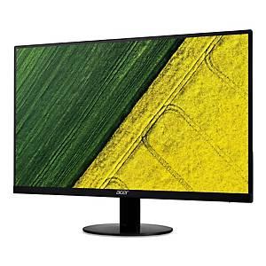 Acer SA270 LED Monitor FHD ZeroFrame EcoDisplay IPS 27  Black