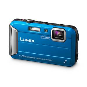 Panasonic DMC-FT30 Tough Camera 16.1MP 720p 25mm Waterproof Blue