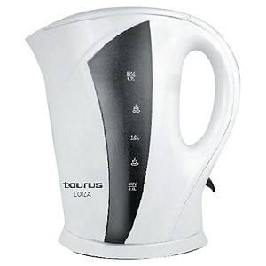 Bouilloire électrique Taurus Loiza - 1,7 L - blanche