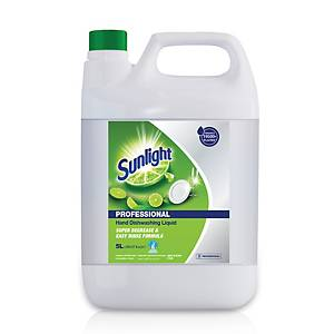 Sunlight Dishwash Detergent Lime 5l