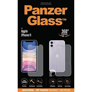 Skärmskydd PanzerGlass Apple iPhone 11 med PG-case