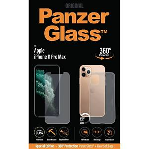 PanzerGlass Apple iPhone 11 Pro Max med PG-case